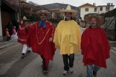 """2008 """"I messicani"""" Carnevale a Nimis"""